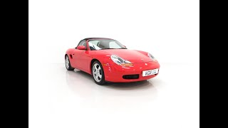 A Stunning Porsche Boxster 986 with Only 30,968 Miles and Incredible History - £12,495