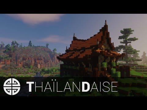 TUTO - Minecraft │ Maison Asiatique/Thaïlandaise [FR]