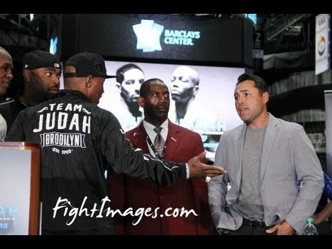 ZAB JUDAH goes off on Oscar De La Hoya & GBP at the GARCIA VS JUDAH Final Presser!