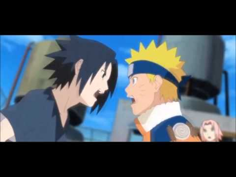 Naruto vs Sasuke - Skillet Monster