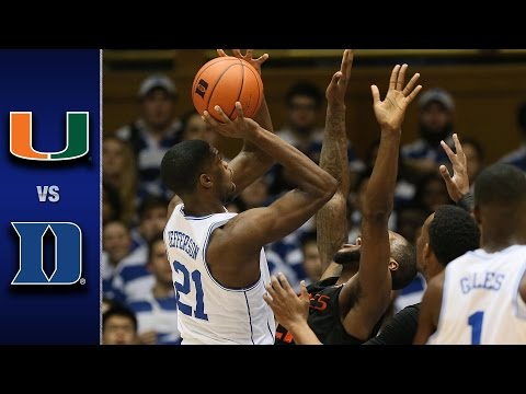 Miami vs. Duke Men
