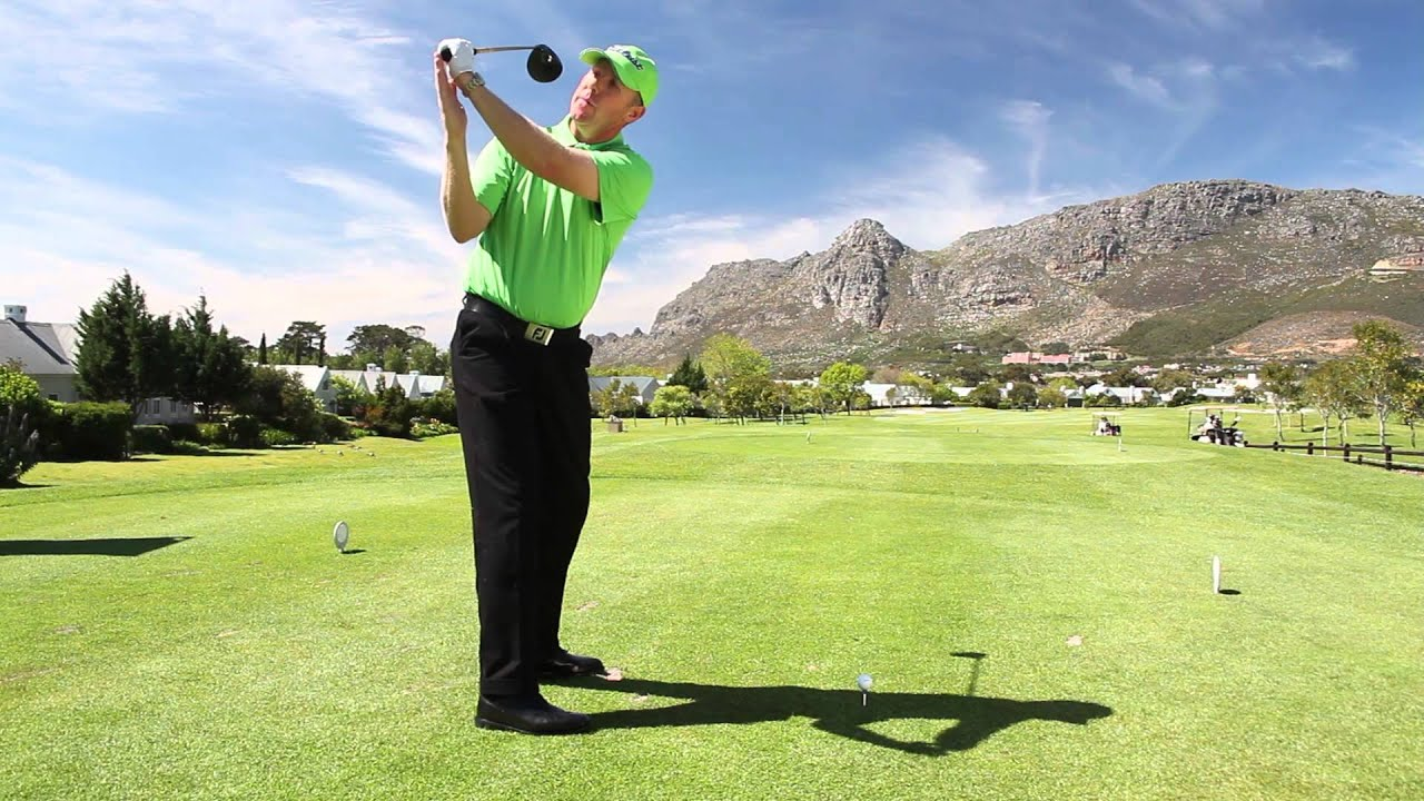 Warm up drills for a correct swing plane