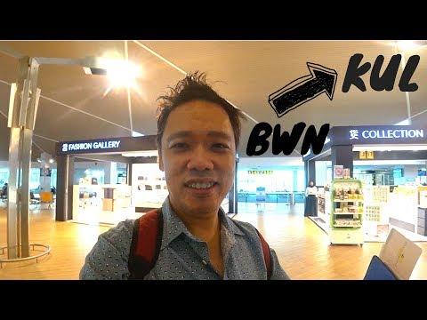 Travel to MALAYSIA 🇲🇾 | BRUNEI International Airport (BWN) to Kuala Lumpur  (KLIA)