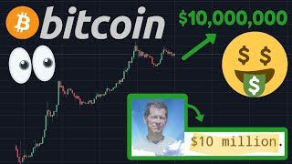 BITCOIN TO $10,000,000 PER COIN!!! Hal Finney Prediction From 2009!!