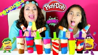 Tuesday Play Doh Colorful Play Doh Popsicles|B2cutecupcakes
