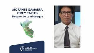 SALUDOS DE LOS DECANOS REGIONALES DEL CPPe, POR EL DÍA DEL MAESTRO.