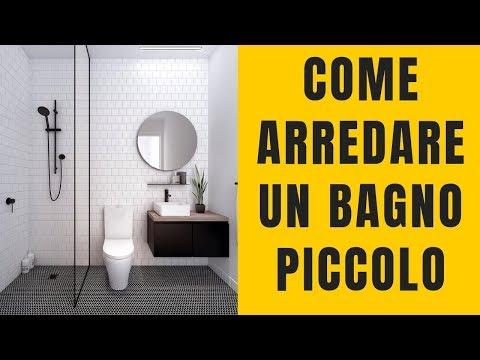 dd038b576de9 Come arredare un bagno piccolo? 17 Consigli che funzionano 😏 - YouTube