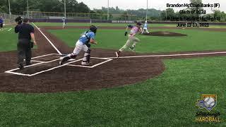 Brandon McClain-Banks (IF) - Class of 2023 - Hitting & Fielding Highlights - June 11-13, 2021