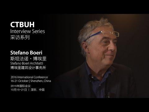 CTBUH Video Interview – Stefano Boeri