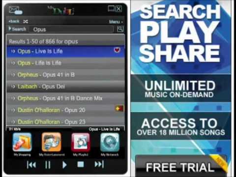 Suchen & Hören...Millionen von Songs