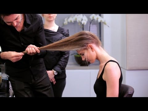 How to Cut Long Hair Yourself