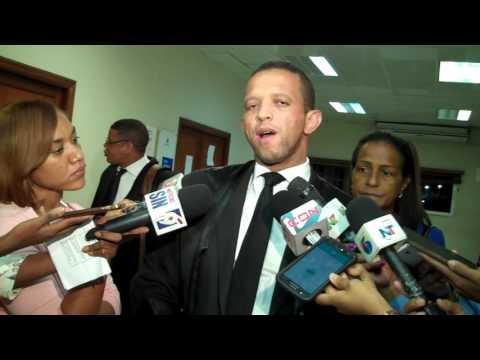 Abogado Ernesto Feliz Santos declara al salir preliminar asesinato Natasha y Zuleika
