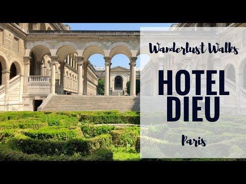 Wanderlust Walks | Paris | Hotel Dieu