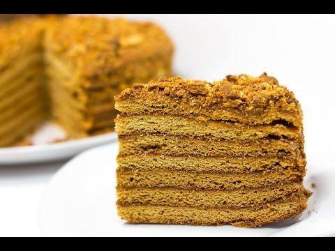 Торт МЕДОВИК \ Медовик рецепт простой и вкусный \ Торт Рыжик \