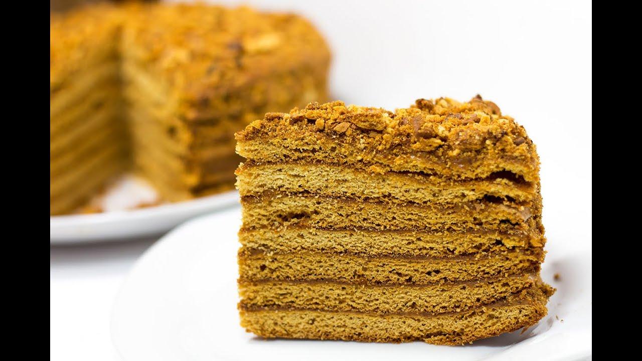 Торт медовик рыжик рецепт