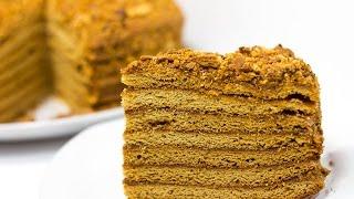 """Торт """"МЕДОВИК"""" \ Медовик рецепт простой и вкусный \ Торт Рыжик \"""