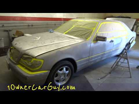 Body shop work paint job video how to update review for Mercedes benz mechanic jobs