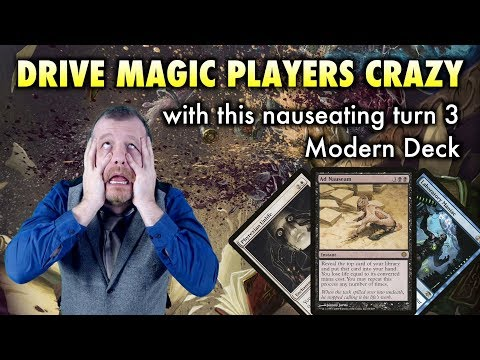 Drive Magic: The Gathering Players Crazy With This Nauseating Turn 3 Modern Deck