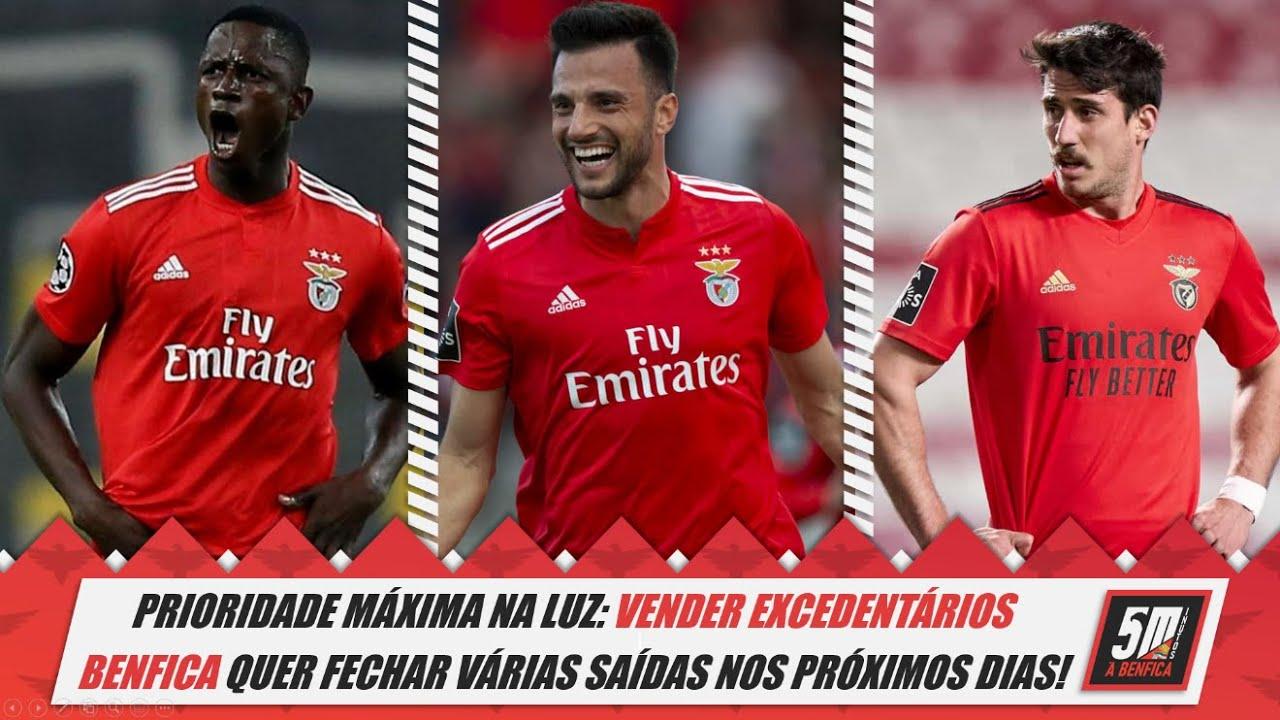 Benfica 2021-22 ● Prioridade máxima na Luz: vender os excedentários!
