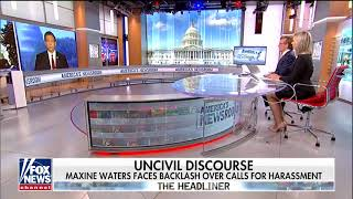 DeSantis Says Waters Is the 'Pied Piper for the Unhinged Left'