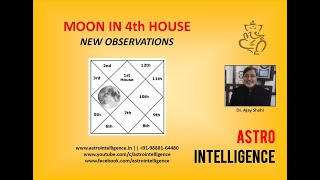 MOON IN 4Th HOUSE--NEW OBSERVATIONS