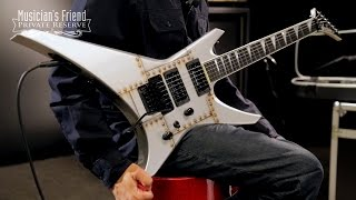 Jackson WR1 USA Warrior Electric Guitar, Bolted Steel