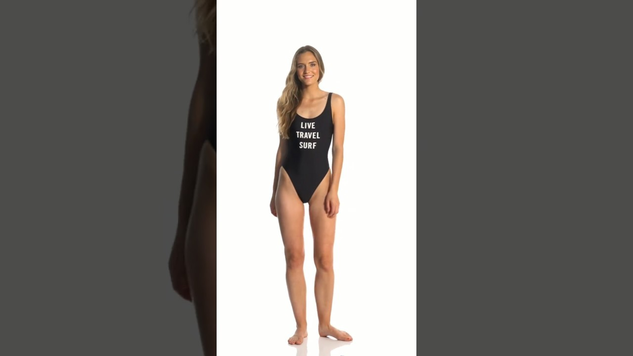 e701476094 Eidon Flavors Jenny One Piece Swimsuit   SwimOutlet.com - YouTube