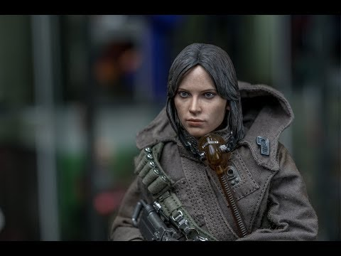 Hot Toys Jyn Erso Rogue One 1/6 Scale Figure Deluxe Edition Review (4K)