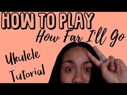 How Far I'll Go - Moana (UKULELE TUTORIAL) thumbnail