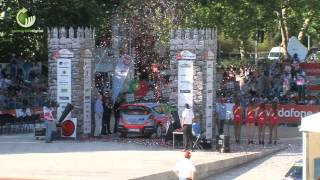 Beleza histórica de Guimarães deu as boas-vindas ao Rally de Portugal