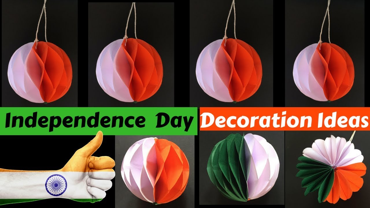 Diy Independence Day Decoration Ideas For Office School Youtube