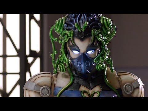 Metal Alice In Power Rangers Megaforce Episodes | Female Villains Compilation