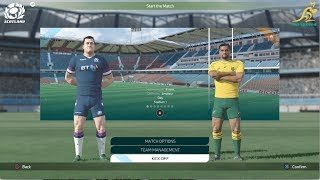 New Rugby 18 HD Gameplay (Entire Match) Scotland vs Australia