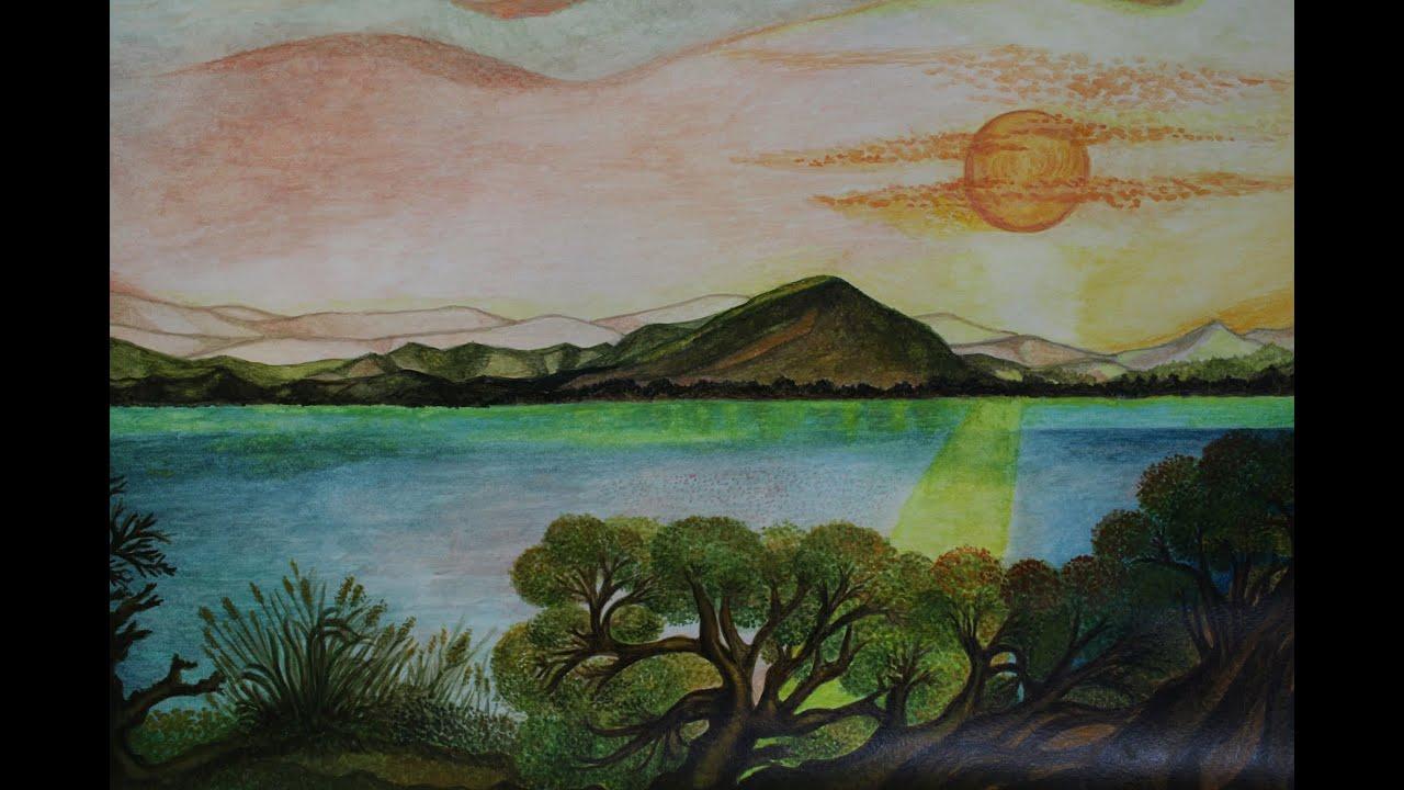 Come disegnare un paesaggio di montagna eg03 regardsdefemmes for Paesaggi semplici da disegnare