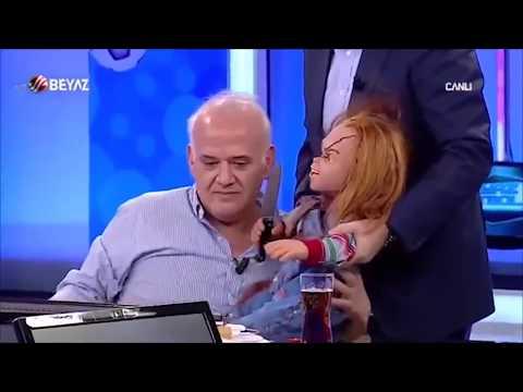 Ahmet Çakar Bebek Chucky ile Programa çıktı !!