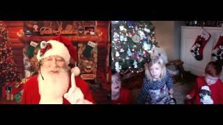 The Kids Talk To Santa