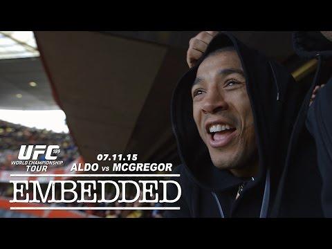 UFC 189 World Championship Tour Embedded: Vlog Series - Episode 9
