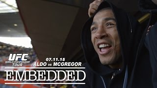 UFC 189 World Championship Tour Embedded: Vlog Series - Episode 9