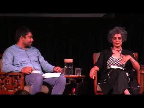 Arundhati Roy in conversation with Sirish Rao