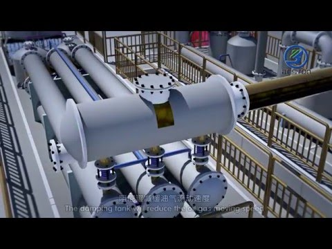 Turning Waste Plastic into Fuel Oil Machine 3D Video