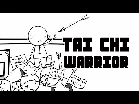 OFFICE TAI CHI WARRIOR