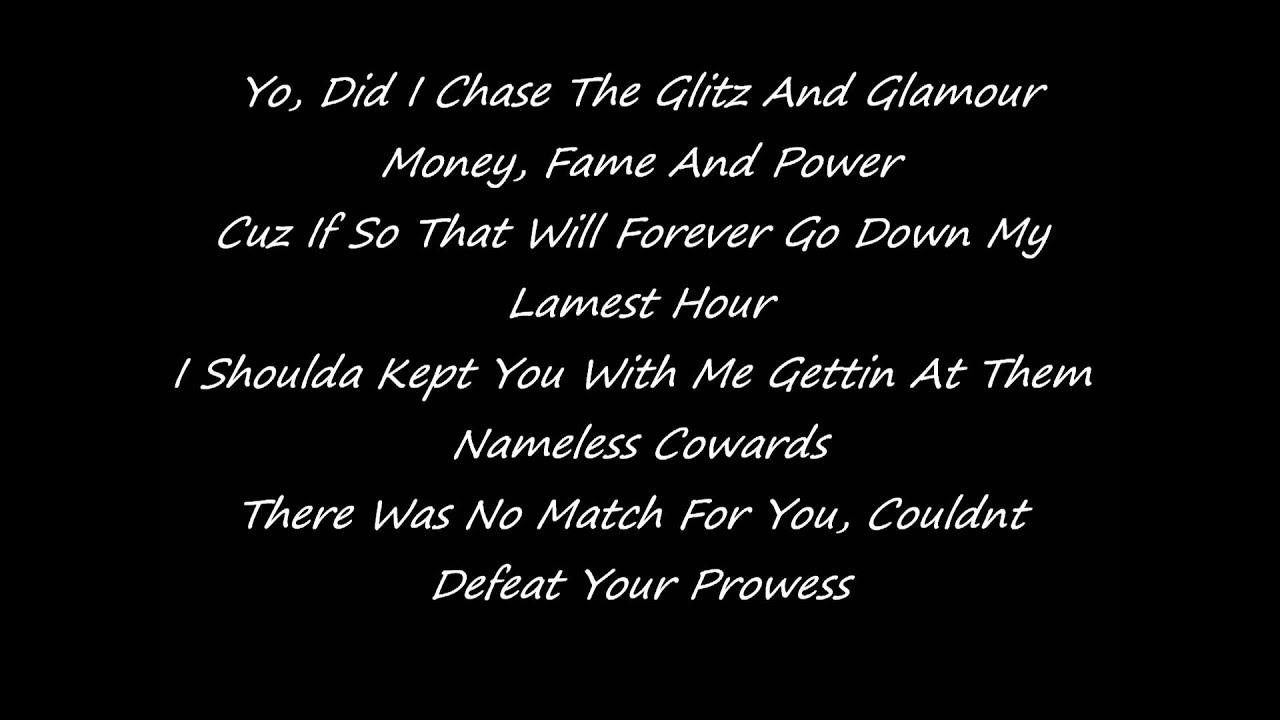 Nicki minaj dear old lyrics video