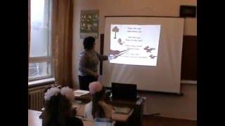 Урок англійської мови в 3 класі