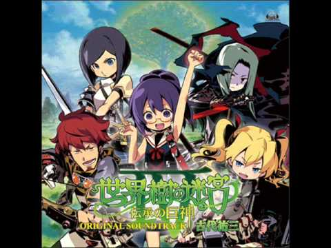 Etrian Odyssey IV  Music: Unrest  The End of Raging Winds