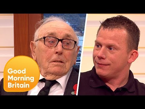 Remembrance Day: Two Veterans Tell Their Very Different Accounts of War | Good Morning Britain