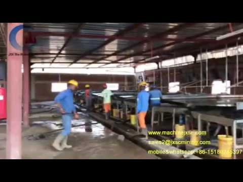 Zambia Rock tin ore separation machine tin ore shaking table