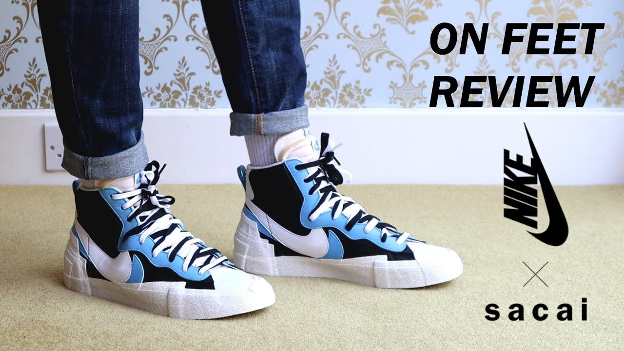 Sacai Nike Blazer On Feet Review