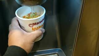 How To Cook Instant Ramen Cup Noodle With A Microwave