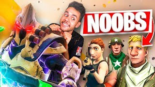 CÓMO ENCONTRAR NOOBS EN FORTNITE - TheGrefg