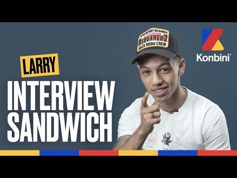 Youtube: Larry – Ma mère va me tuer en voyant cette interview | Interview Sandwich | Konbini
